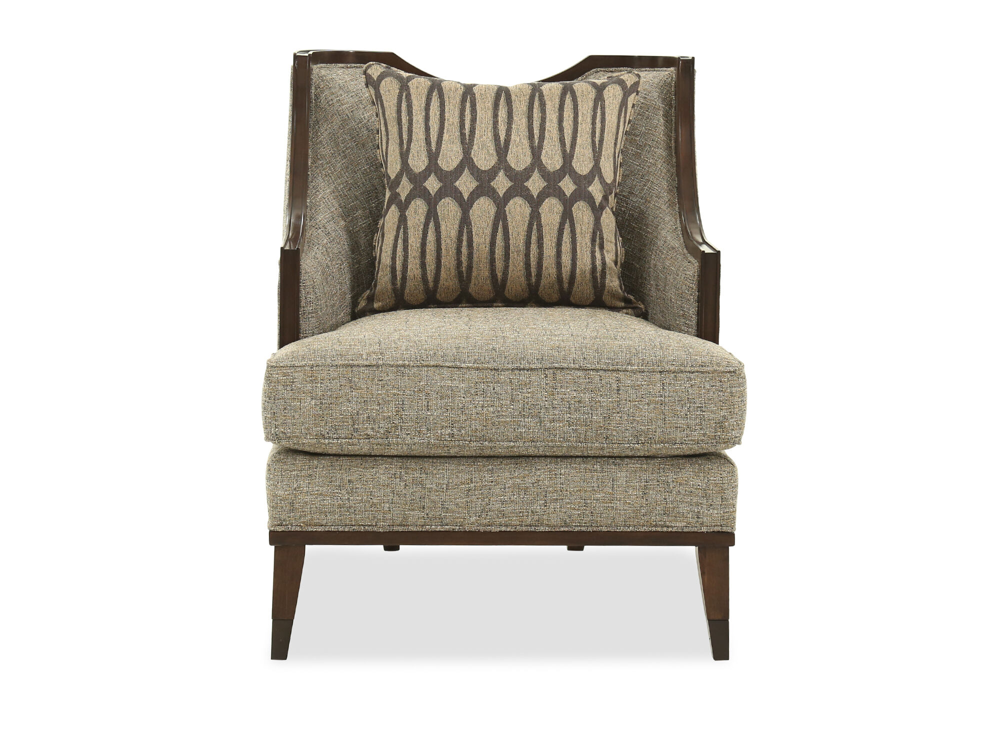 Images Textured Contemporary 30u0026quot; Chair In Gray Textured Contemporary  30u0026quot; Chair In Gray