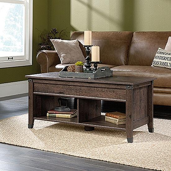 Rectangular Lift-Top Contemporary Coffee Tablein Coffee Oak