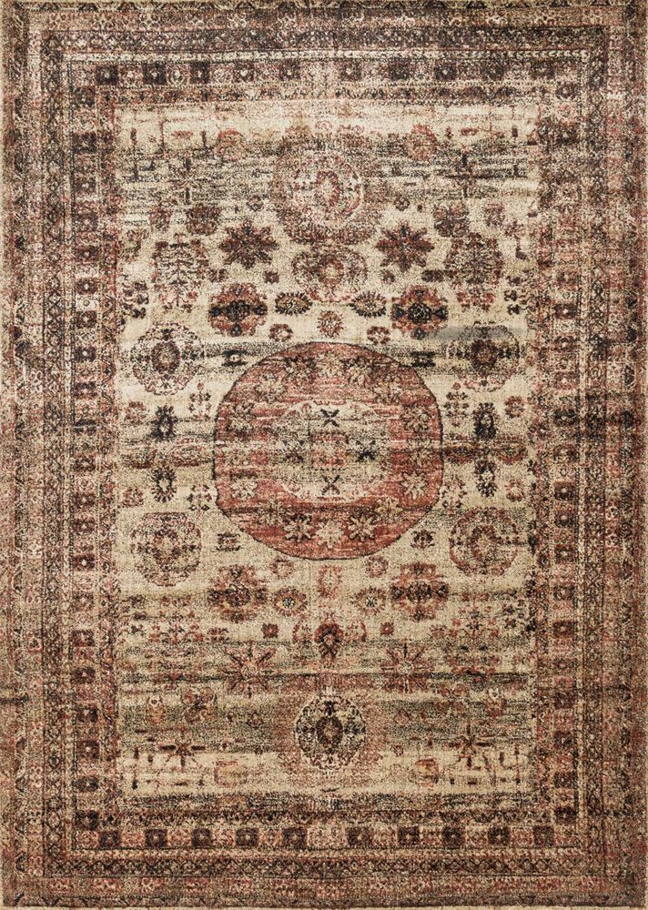 Transitional Rug in Champagne/Multi