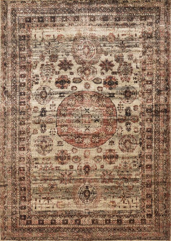 """Transitional 2'-7""""x8'-0"""" Rug in Champagne/Multi"""