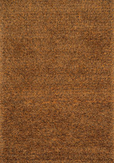 "Shags 3'-6""x5'-6"" Rug in Spice"
