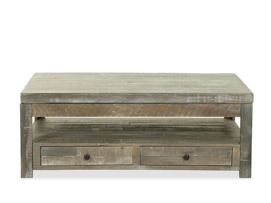 Casual Cocktail Table in Gray