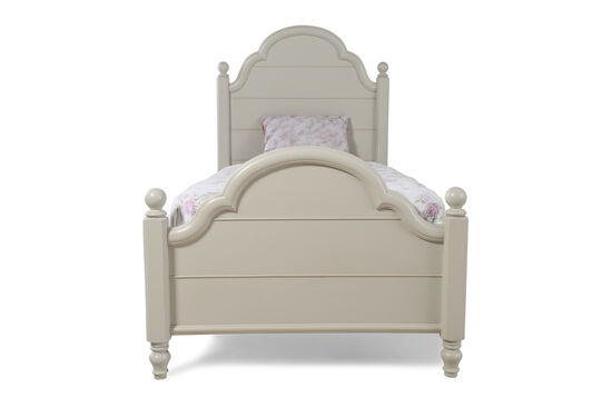 Legacy Inspirations Westport Twin Low Poster Bed