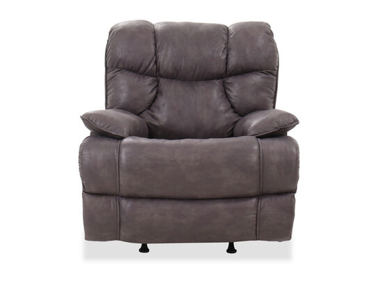 "Casual 40"" Rocker Recliner in Iron"