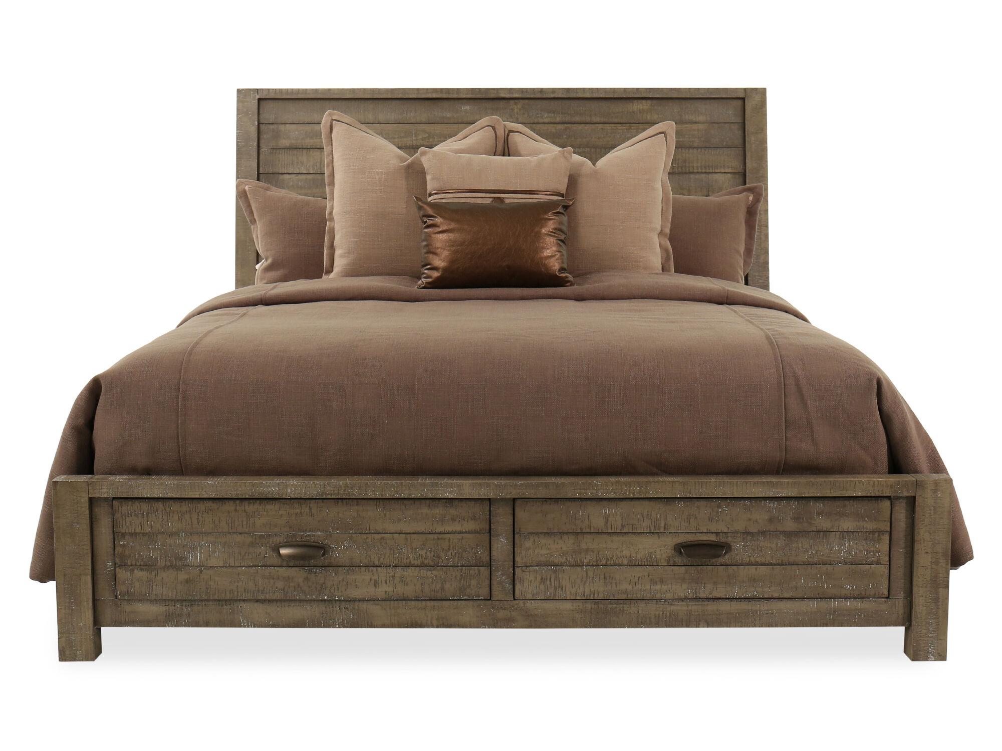 Aspen Radiata King Storage Bed ...