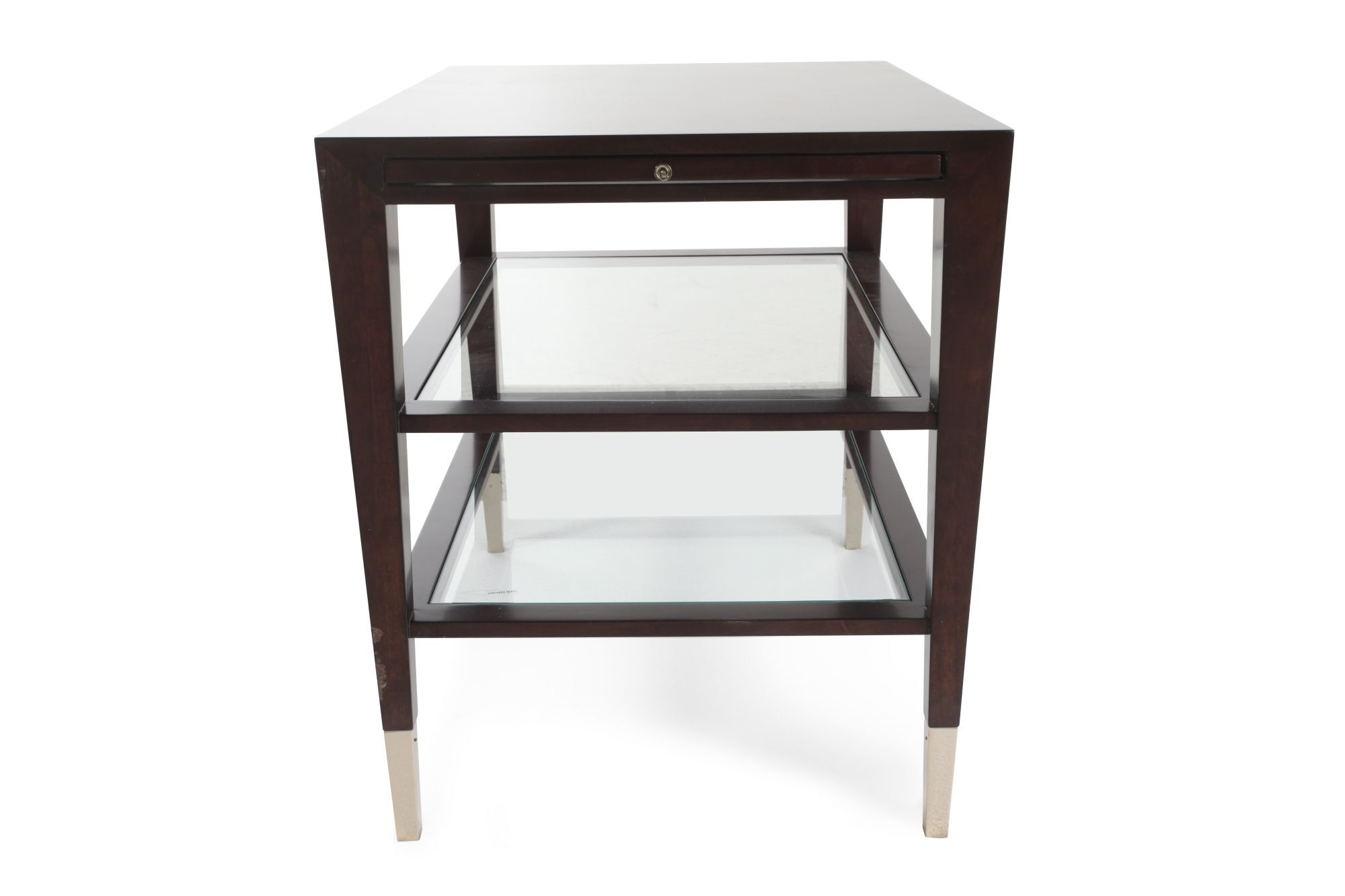 caracole side show end table
