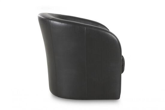 Low-Back Swivel Chair in Onyx