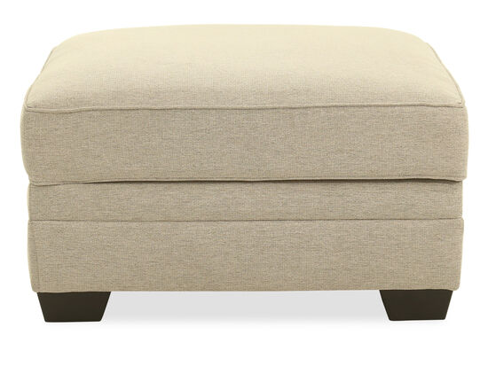 "Casual 36"" Storage Ottoman in Chalk"