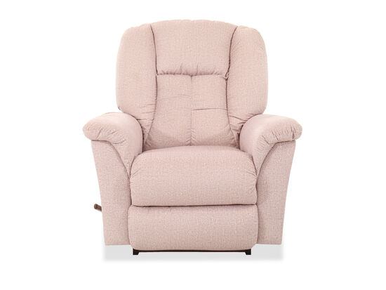 "40"" Casual Rocker Recliner in Pink"