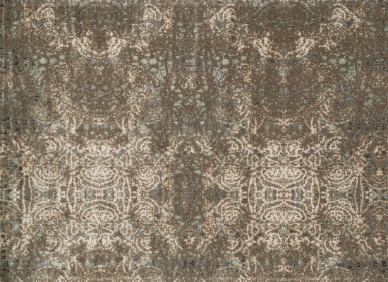 "Loloi Power Loomed 5'x7'6"" Rug in Taupe/Multi"