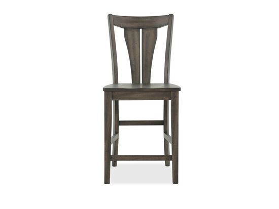 "Casual 40"" Bar Stool in Deep Grey"