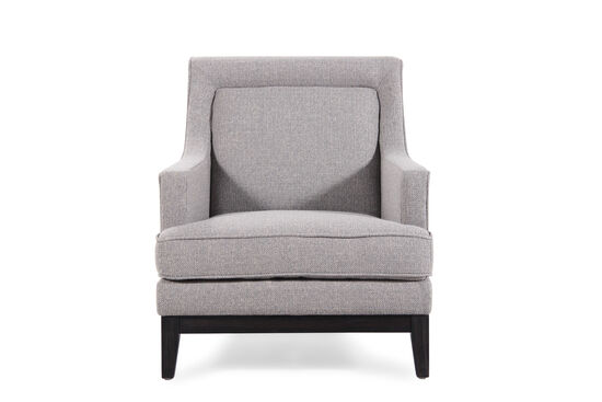 """Textured Contemporary 31"""" Arm Chair in Sage"""
