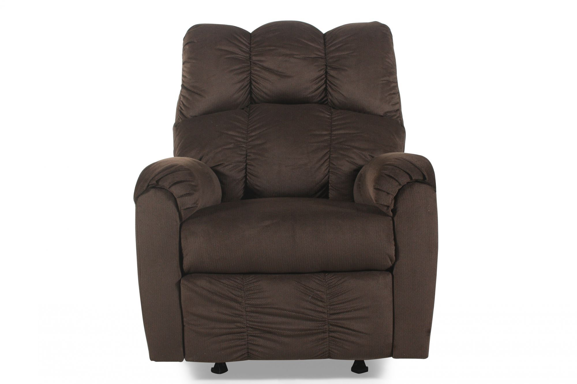 Ashley Raulo Chocolate Rocker Recliner  sc 1 st  Mathis Brothers : ashley recliners - islam-shia.org