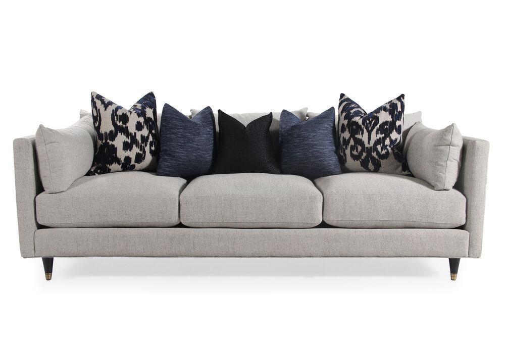 Low Profile Mid Century Modern 45 Sofa