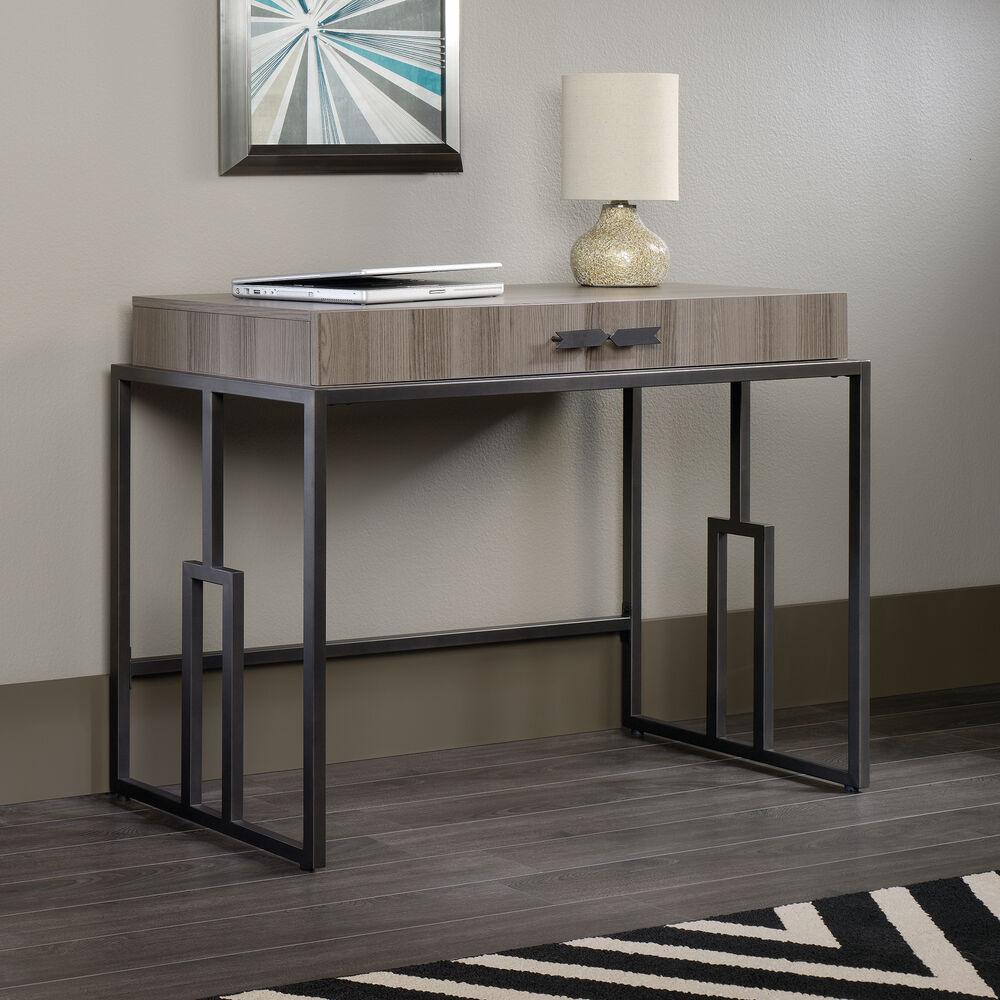 "41.5"" Modern Two-Drawer Writing Desk in Diamond Ash ..."