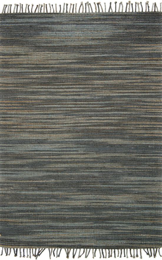 """Contemporary 2'-3""""x3'-9"""" Rug in Storm"""