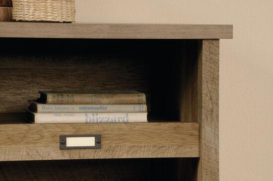 Traditional Adjustable Shelf Storage Credenza in Craftsman Oak