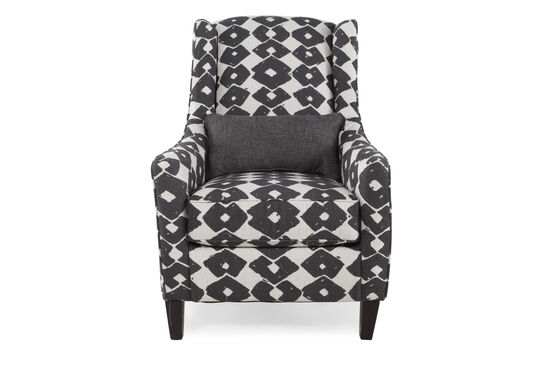 """Wing-Back Contemporary 29"""" Accent Chair"""