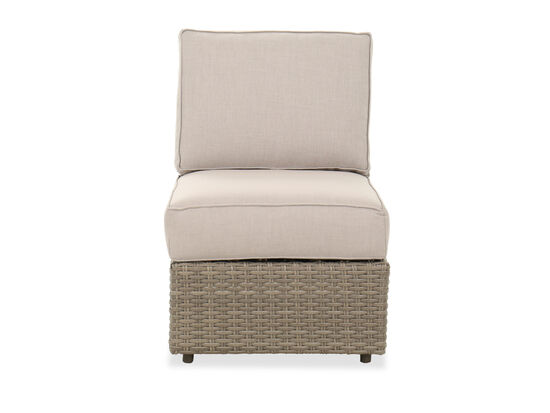 Contemporary Patio Chair in Light Gray
