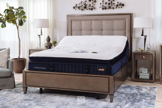 Stearns & Foster Hepburn Luxury Plush Euro Pillow Top Mattress