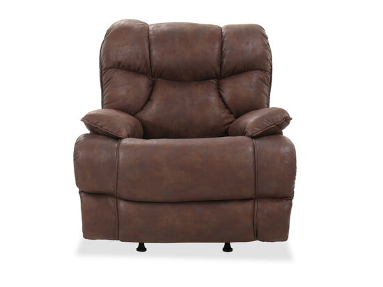 "Casual 40"" Rocker Recliner in Mocha"