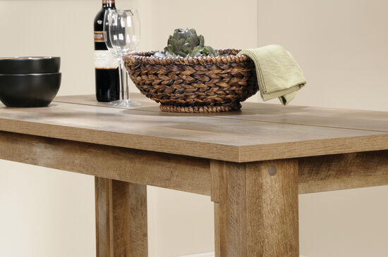 "Contemporary 26"" Rectangular Counter Table in Craftsman Oak"