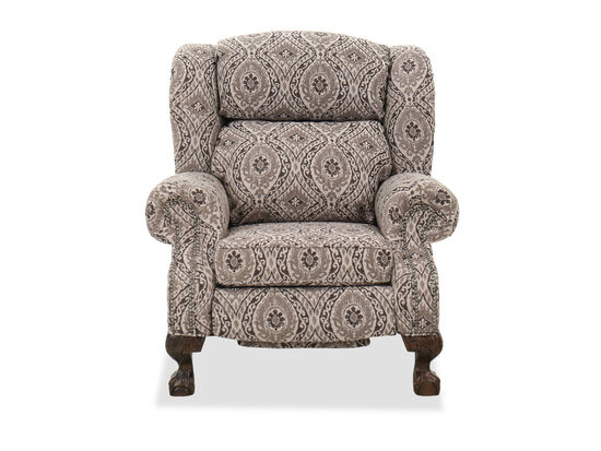 """Nailhead-Accented 39"""" Power Recliner"""