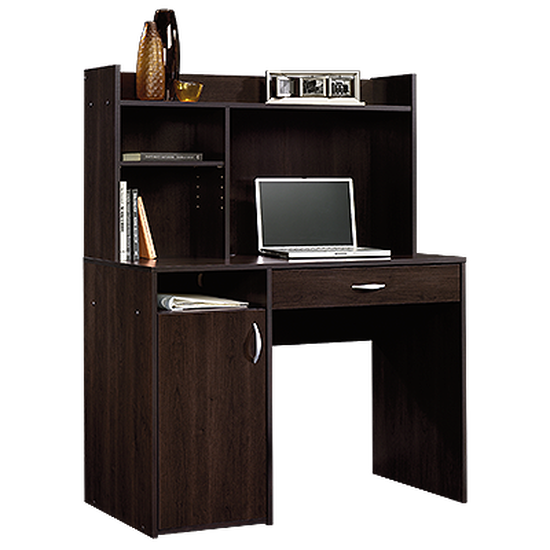 "43"" Casual One-Drawer Desk with Hutch in Cinnamon Cherry"