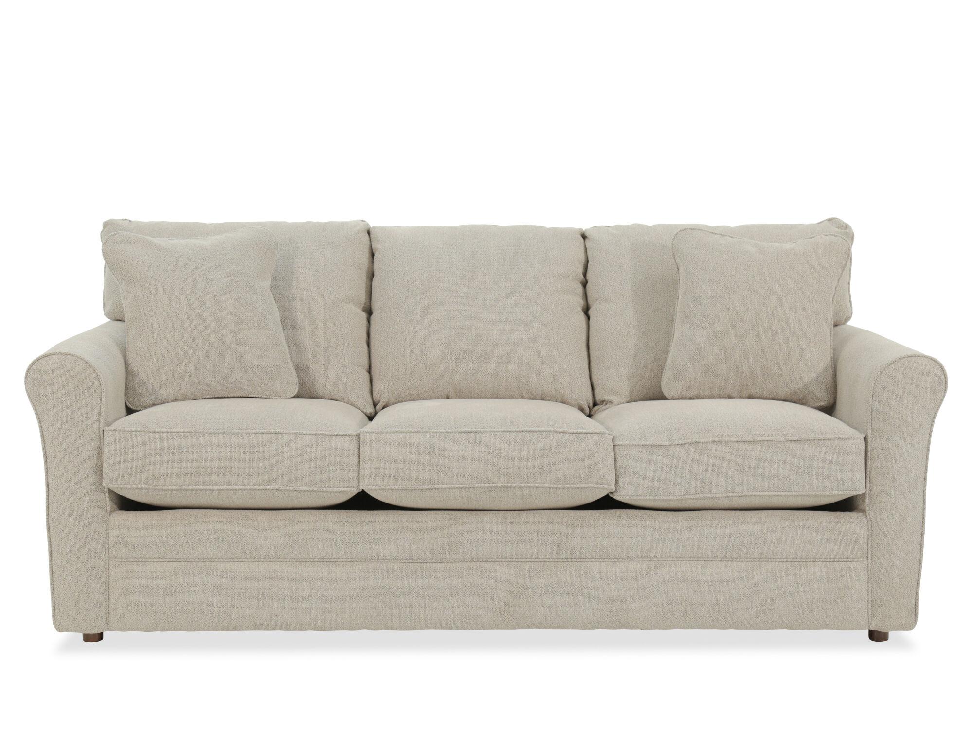 Casual 82u0026quot; Queen Sleeper Sofa ...