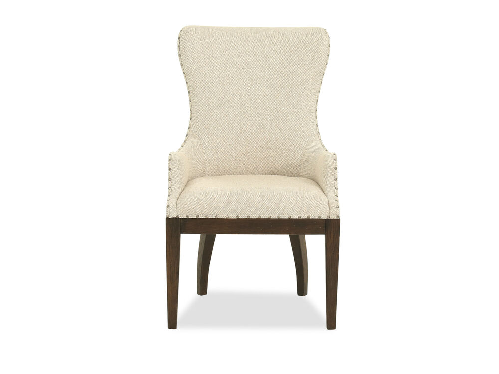 "Casual 44"" Host Chair in Beige"