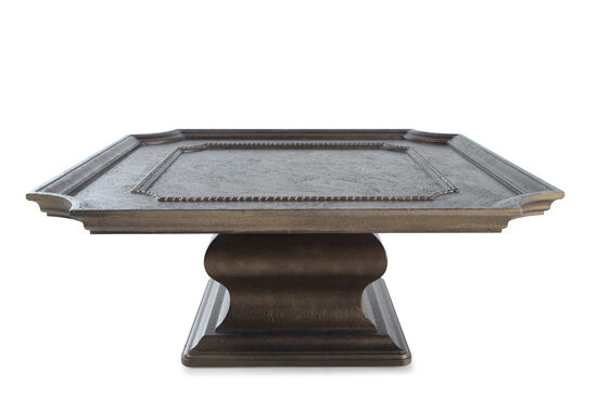 Square Traditional CocktailTable in Bronze