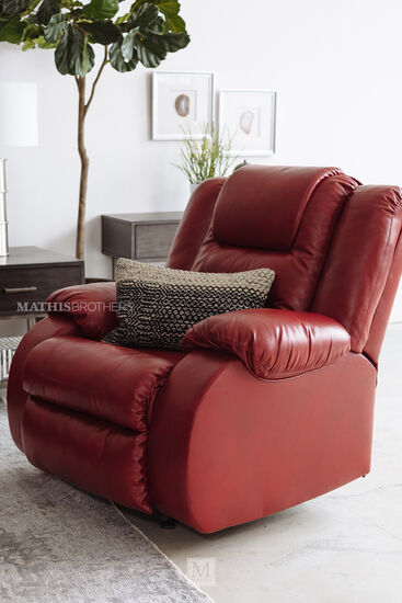 Rocker Recliner in Red