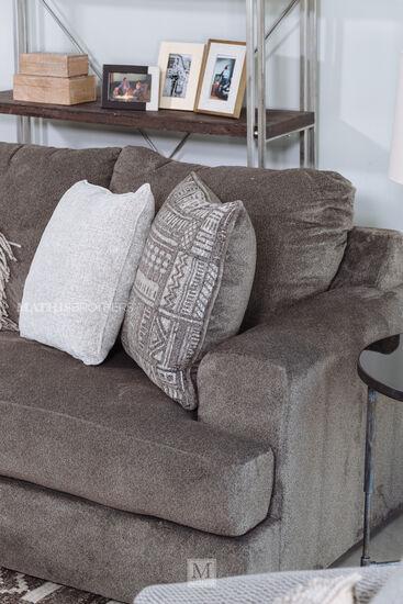 """Contemporary 96"""" Sofa in Ash"""
