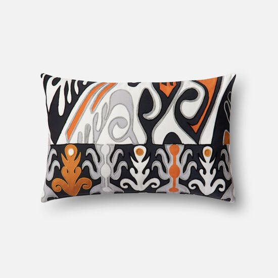 "13""x21"" Pillow Cover Only in Orange/Multi"