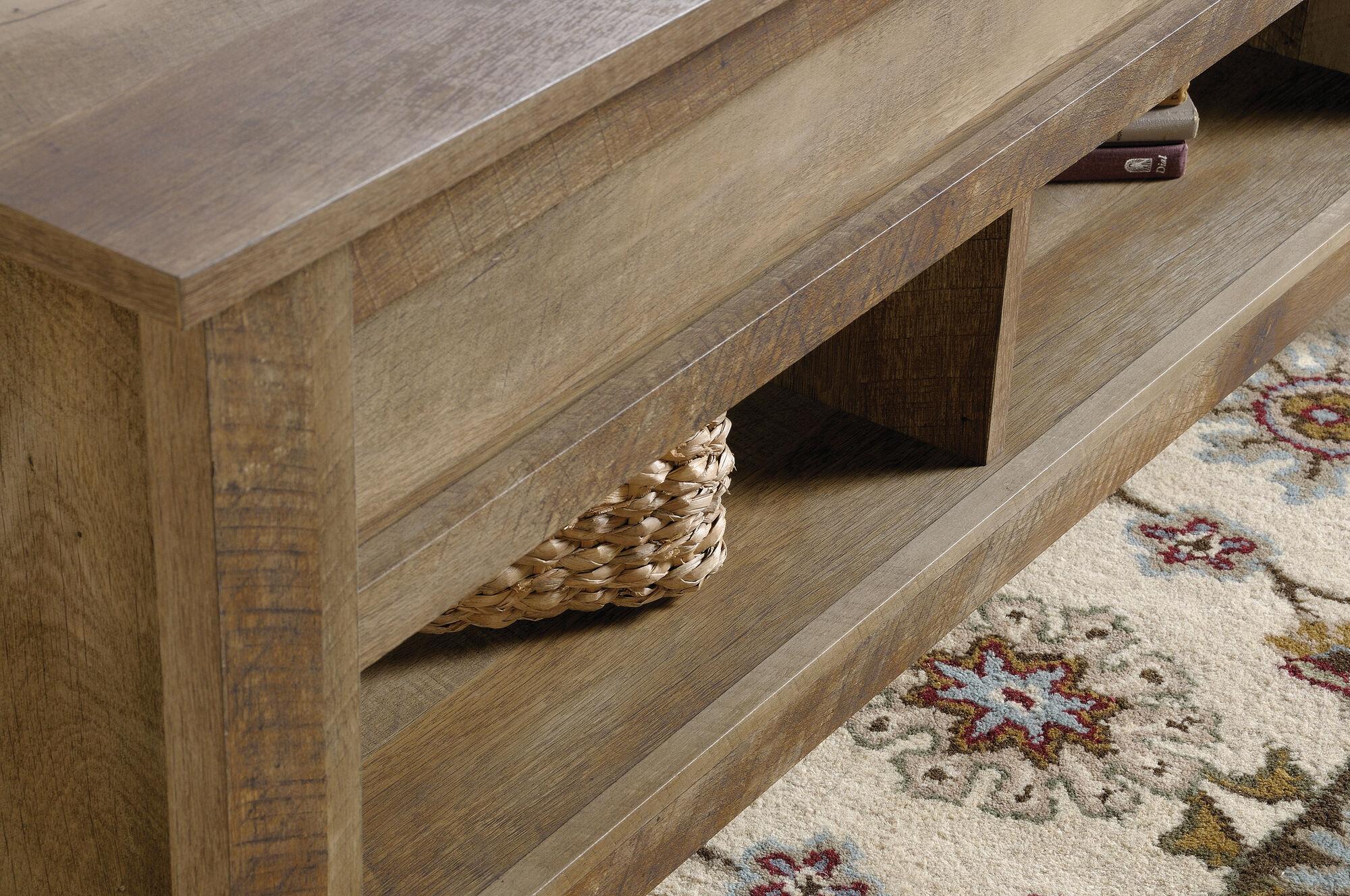 Craftsman Oak Rectangular Lift Top Contemporary Coffee Table Nbsp In