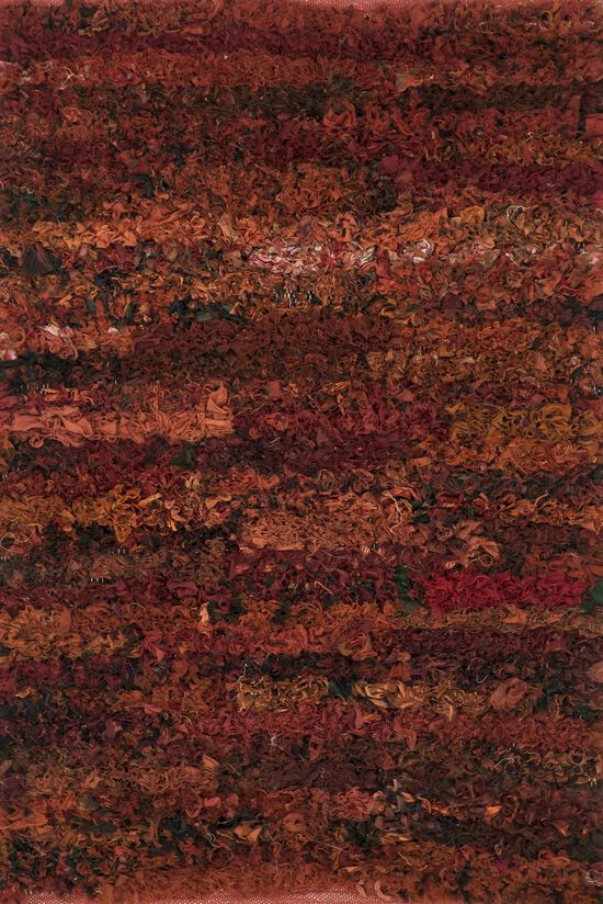 """Contemporary 3'-0""""x5'-0"""" Rug in Paprika"""