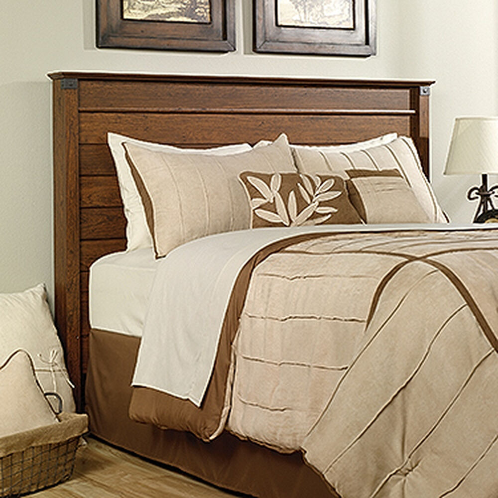 Transitional 52 Quot Full Queen Panel Headboard In Light