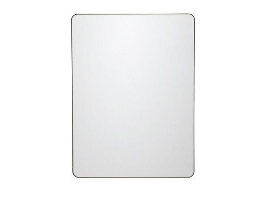 "48"" Contemporary Rectangular Accent Mirrorin Bronze"