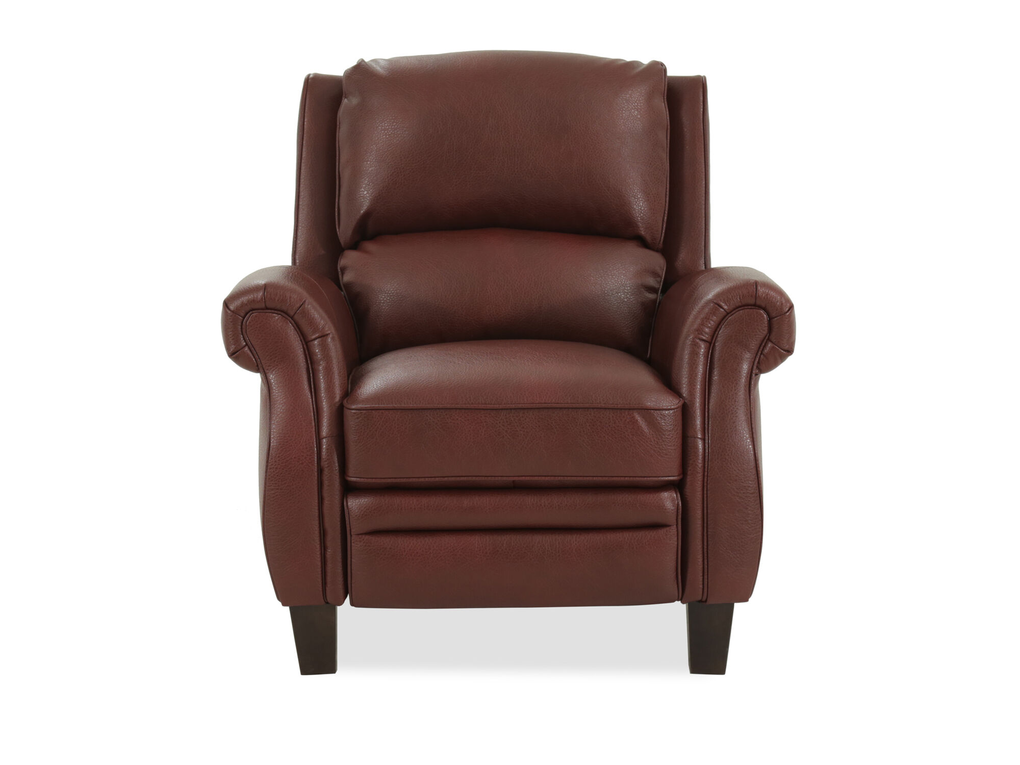 """36"""" Push Back Recliner In Cherry"""