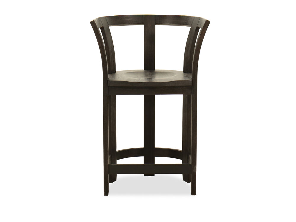 Round Gathering Chair in Brown