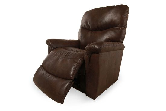 """Traditional 39"""" Rocker Recliner in Sable"""