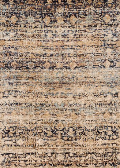 "Transitional 2'-7""x8'-0"" Rug in Sand/Multi"