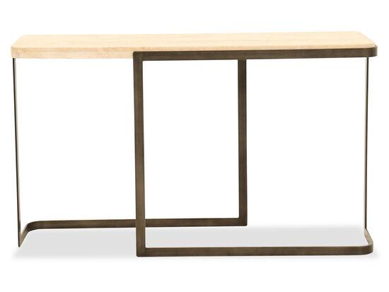 Rectangular Sofa Table in Sand