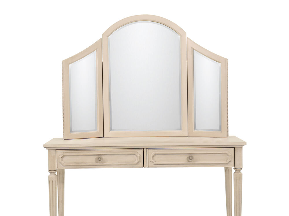 Youth Vanity Mirror In Vintage Taupe Mathis Brothers Furniture