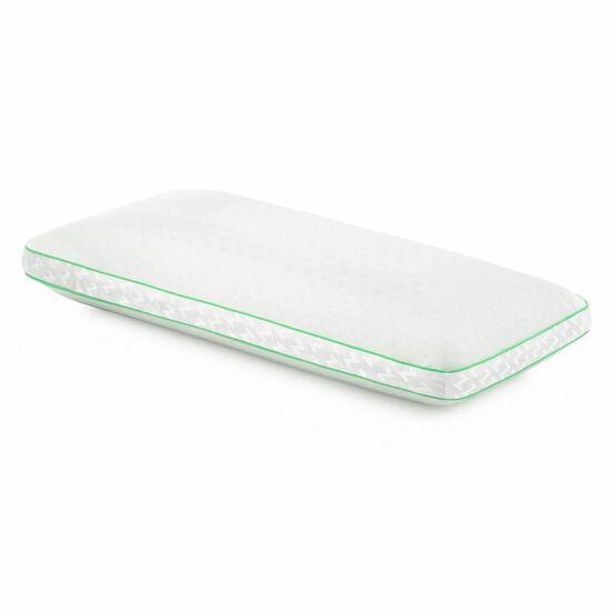 Malouf Peppermint Zoned Queen Pillow