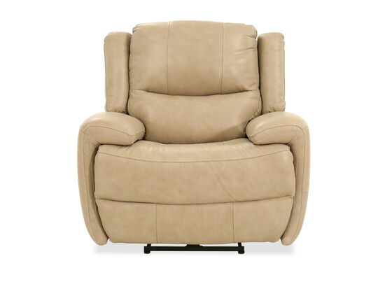 Casual Power Recliner in Beige