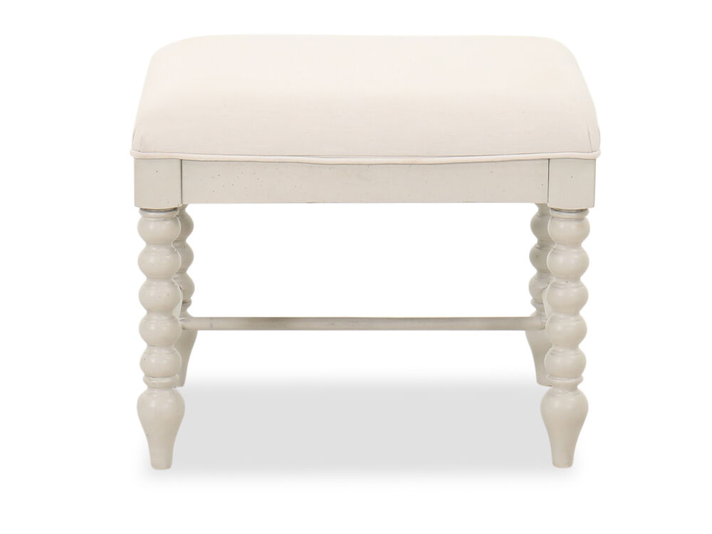 Cottage Youth Vanity Stool in Beige