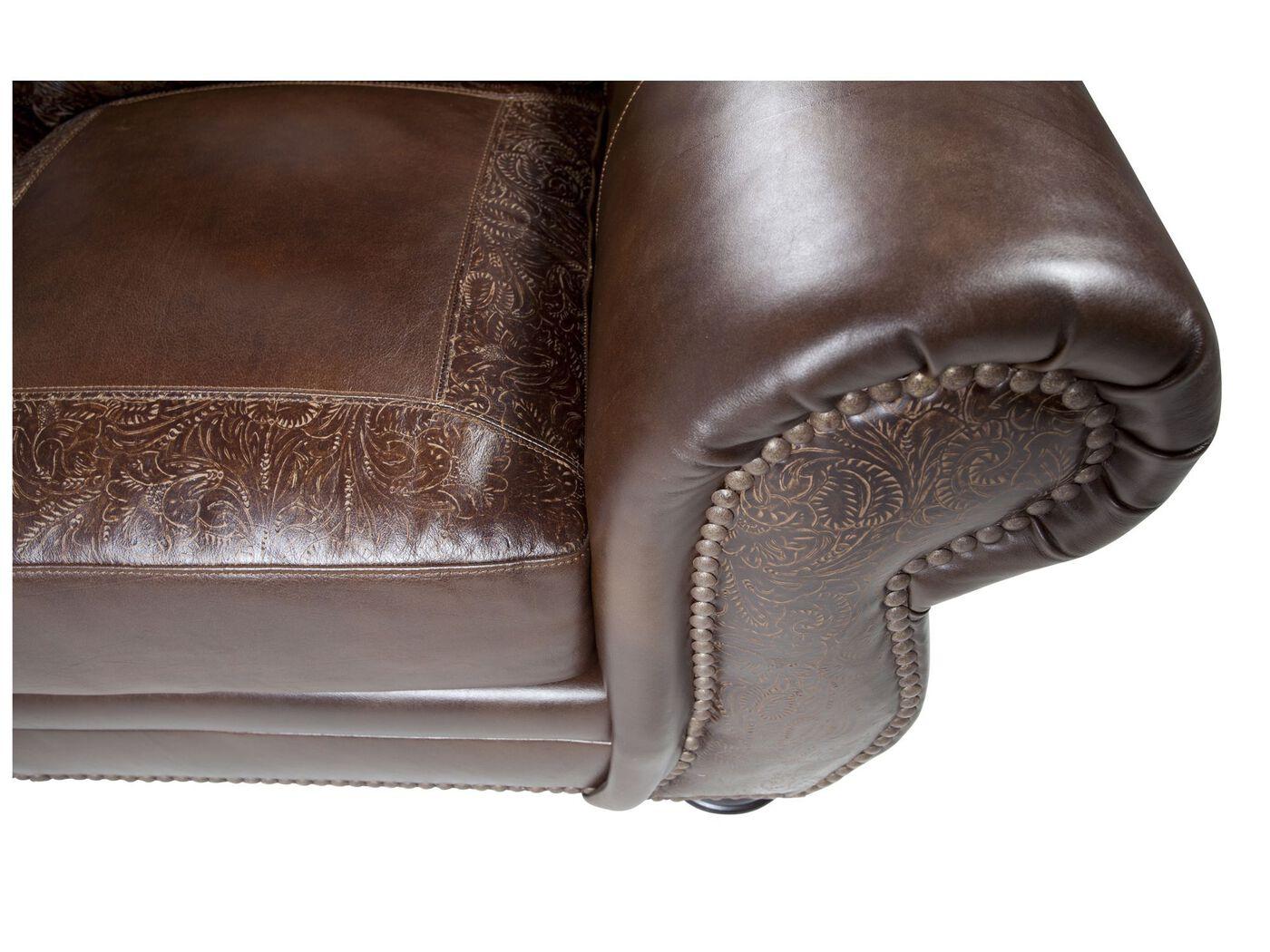 paisley furniture. Paisley-Printed Leather 94\u0026quot; Sofa In Dark Burgundy Paisley Furniture