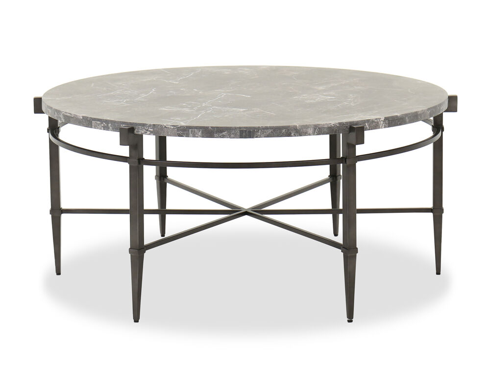 Mariposa Round Cocktail Table Mathis Brothers Furniture