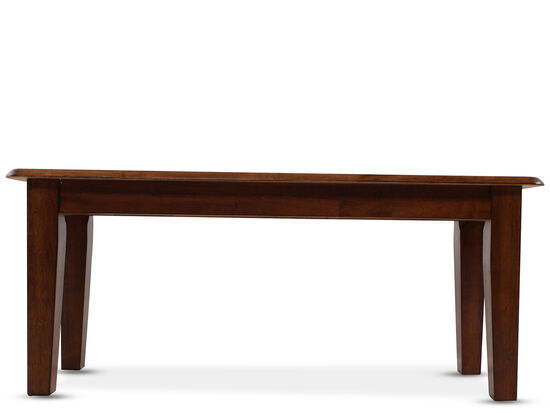 "42"" Casual Bench in Brown"